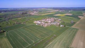Commune vue du ciel | Bertrand Zimmer Cameraman Moselle Captation vidéo Drone
