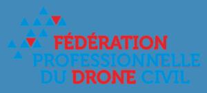 Logo Fédération Professionnelle du Drone Civil FPDC | Bertrand Zimmer Cameraman Moselle Captation vidéo Drone