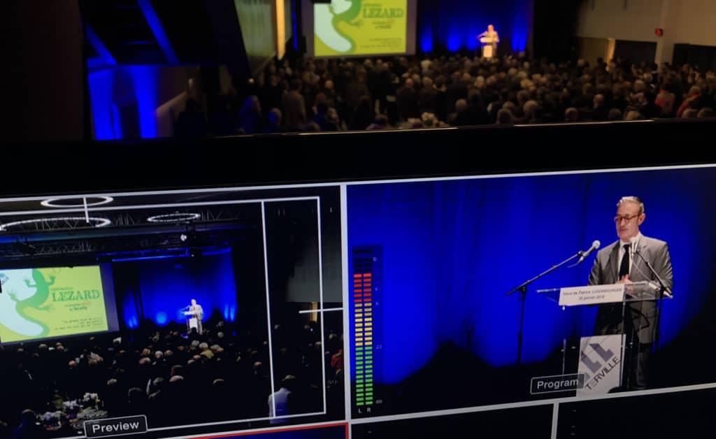 Captation vidéo discours Maire Terville | Bertrand Zimmer Cameraman Moselle Captation vidéo Drone