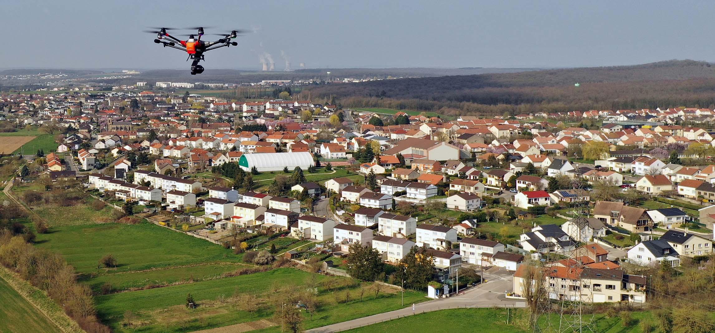 Drone prises de vue aériennes | Bertrand Zimmer Cameraman Moselle Captation vidéo Drone